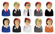 Business & Office Avatars & User Icons
