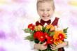 Kind gratuliert