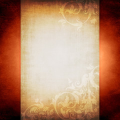old letter parchment