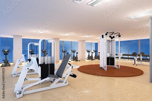 Leeres Fitnesscenter