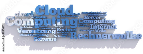 Tag-Cloud für Cloud Computing