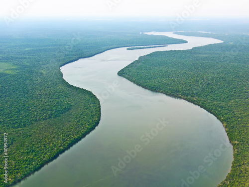 canvas print picture Amazonas