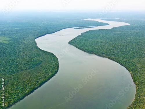 Leinwandbild Motiv Amazonas