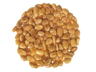 Almond and Honey Nougat Wheel
