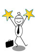 Businessman And Star