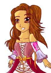 création manga princesse