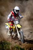 Fototapeta motocyklista - motocykl - Poza Pracą / Sporty
