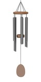 3d render of wind chimes poster