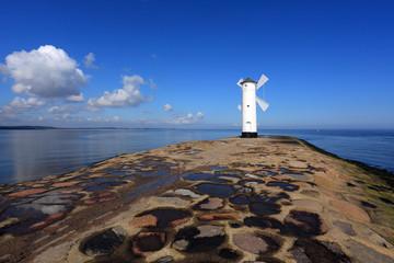Seezeichen am Meer