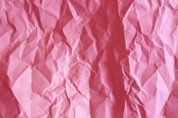 pembe kırışık kağıt