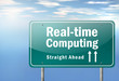 """Highway Signpost """"Real-time Computing"""""""