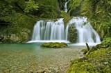 Kleiner Wasserfall im Allgäu