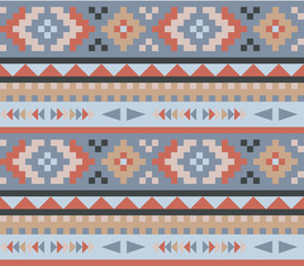 Pattern in navajo style 3