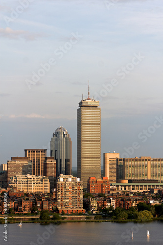 Boston Back Bay with the Prudential Tower