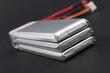 Leinwandbild Motiv Batterie Lithium Polymère