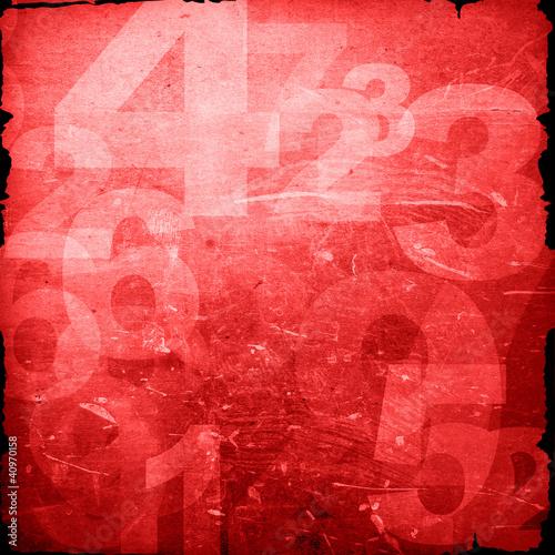 retro style numbers © ilolab