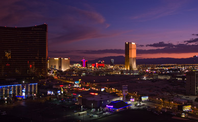 Las Vegas and Trump Tower