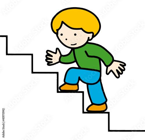 Monter fichier vectoriel libre de droits sur la banque d for Chaise qui monte les escaliers