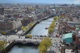 Fototapety Dublin City Scape