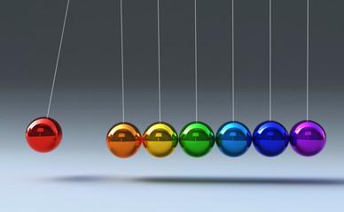 Kugelspiel Regenbogen © virtua73