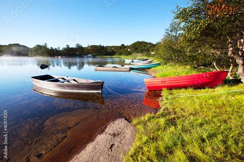 Lake in Norway - 40974301