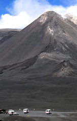 The peak of Mount Etna