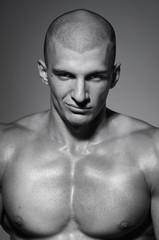 Portrait of male model