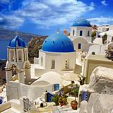 Santorini - traditional cycladic architecture