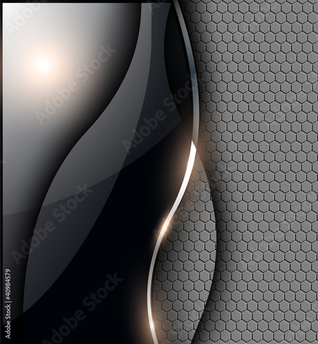 Abstract background, grey black.