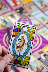 Le Monde (The World), Marseilles Tarot