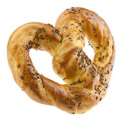 pretzels with caraway