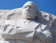 Martin Luther King Memorial in Washington DC, USA