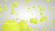 3D tennis ball particles 01