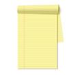Blank legal pad - 40986118