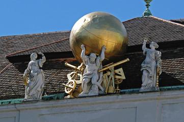 Österreich Wien Hofburg Nationalbibliothek