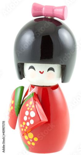Kokeshi, poupée japonaise décorative