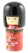 Poupée japonaise Kokeshi boîte à secrets
