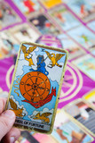 Wheel of Fortune, Tarot card, Major Arcana poster