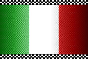 Carbon Fiber Black Background Italy