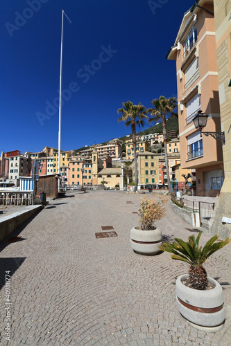 Sori, the promenade, Liguria, Italy