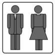 Symbol Damen und Herren
