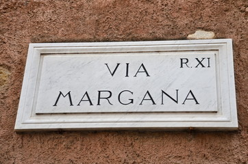 Via Margana, Ghetto Ebraico di Roma