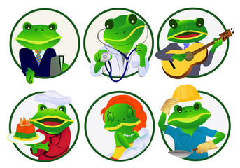 Frogs.Professions