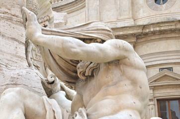 Il Nilo, Fontana dei Quattro Fiumi, Roma