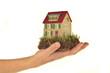 Haus in der Hand