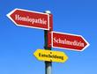 Homöopathie / Schulmedizin