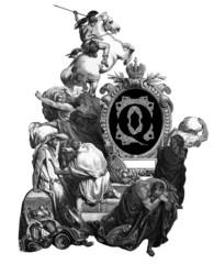 Letter Q.