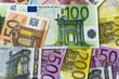 Geld als Hintergrund
