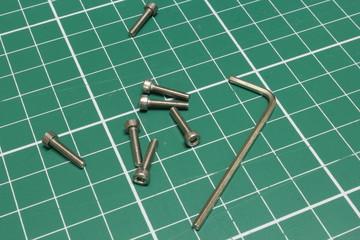 Inbusschlüssel Schrauben
