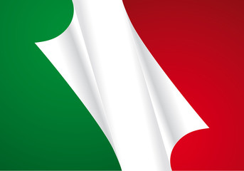Bandiera italiana new